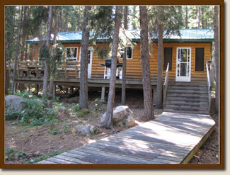Fawcett Fishing Cabin For Rent Wilderness Outposts