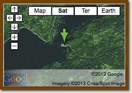 Click for Google Map of Wapesi River