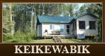 Keikewabik fly in hunting and fishing cabin in Ontario