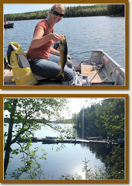 Otatakan Fishing Camp Wilderness Outposts Pickerel Arm