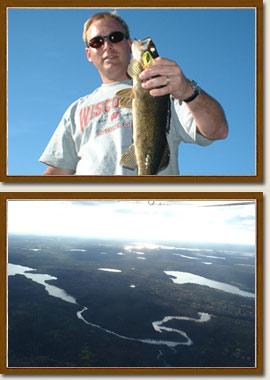 Walleye and pike fishing in Sioux Lookout, Ontario